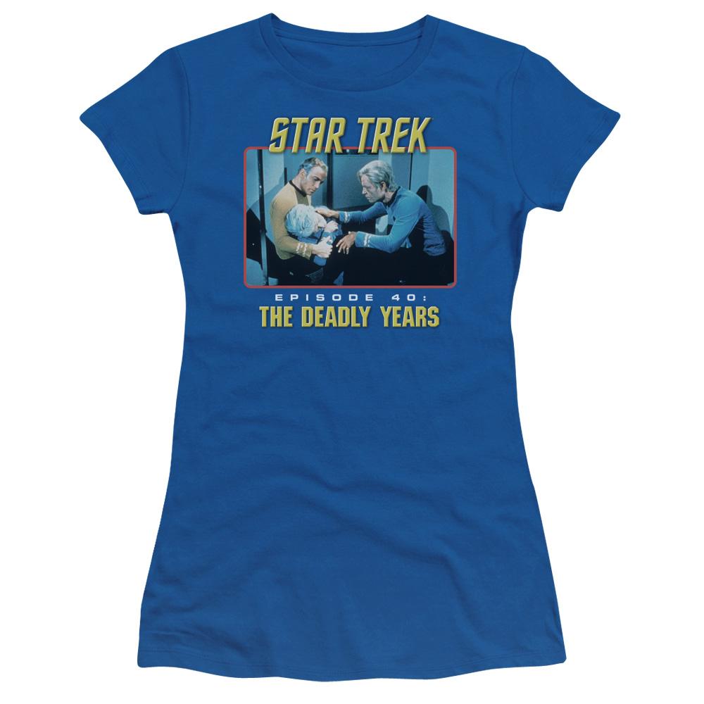 Star Trek The Deady Years Episode 40 Junior Fit T Shirt