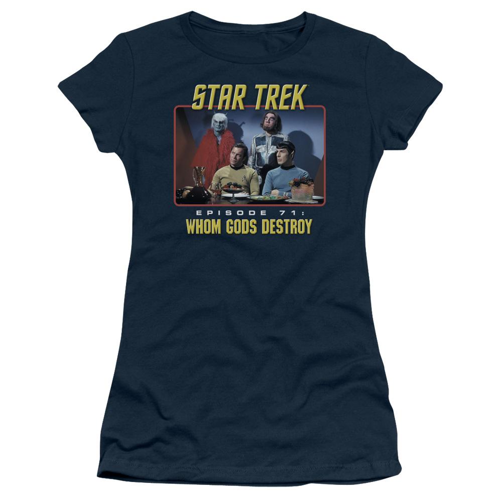 Star Trek Episode 71 Whom Gods Destroy Junior Fit T Shirt