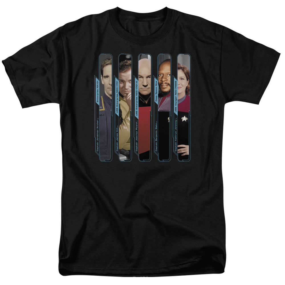 The Captains Star Trek  T-Shirt