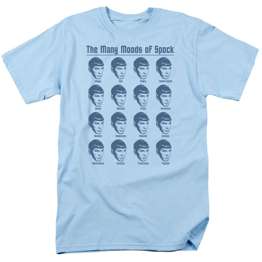 Star Trek Many Moods Of Spock T-Shirt