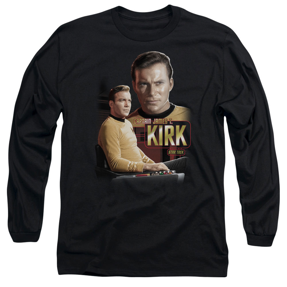 Star Trek Captain Kirk Long Sleeve Shirt