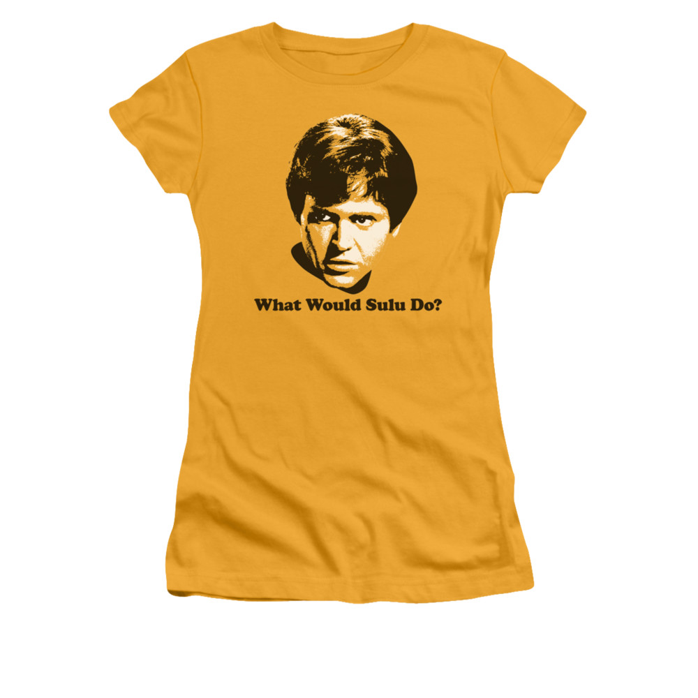 Star Trek What Would Sulu Do Junior Fit T Shirt