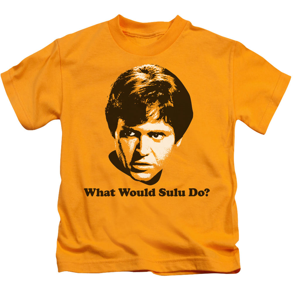 Star Trek What Would Sulu Do Juvy T-Shirt