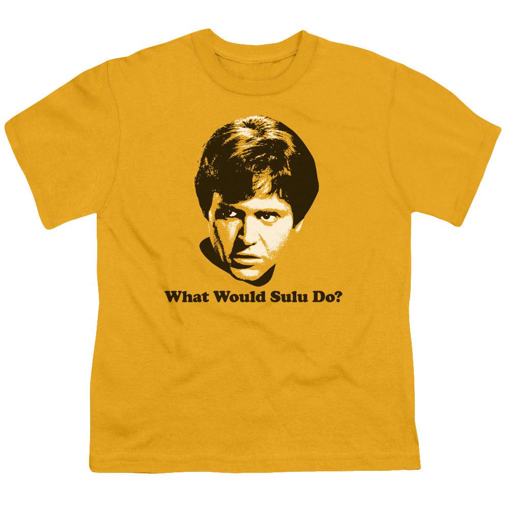 Star Trek What Would Sulu Do Kids T-Shirt