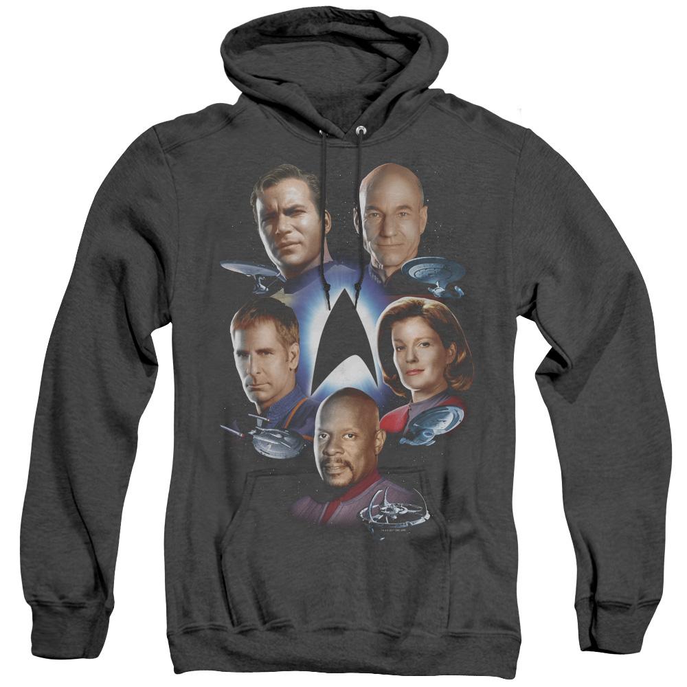 Star Trek Starfleet's Finest Adult Heather Hoodie