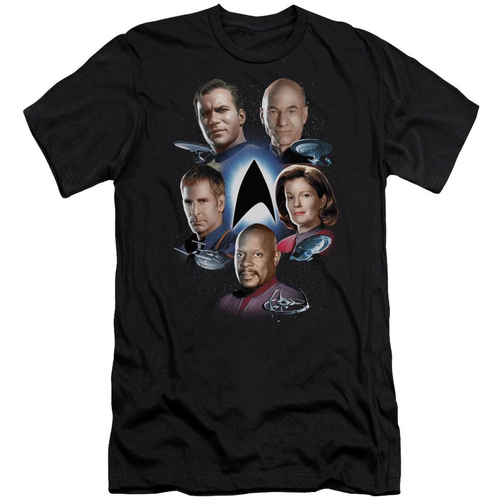 Star Trek Starfleet's Finest Slim Fit T-Shirt