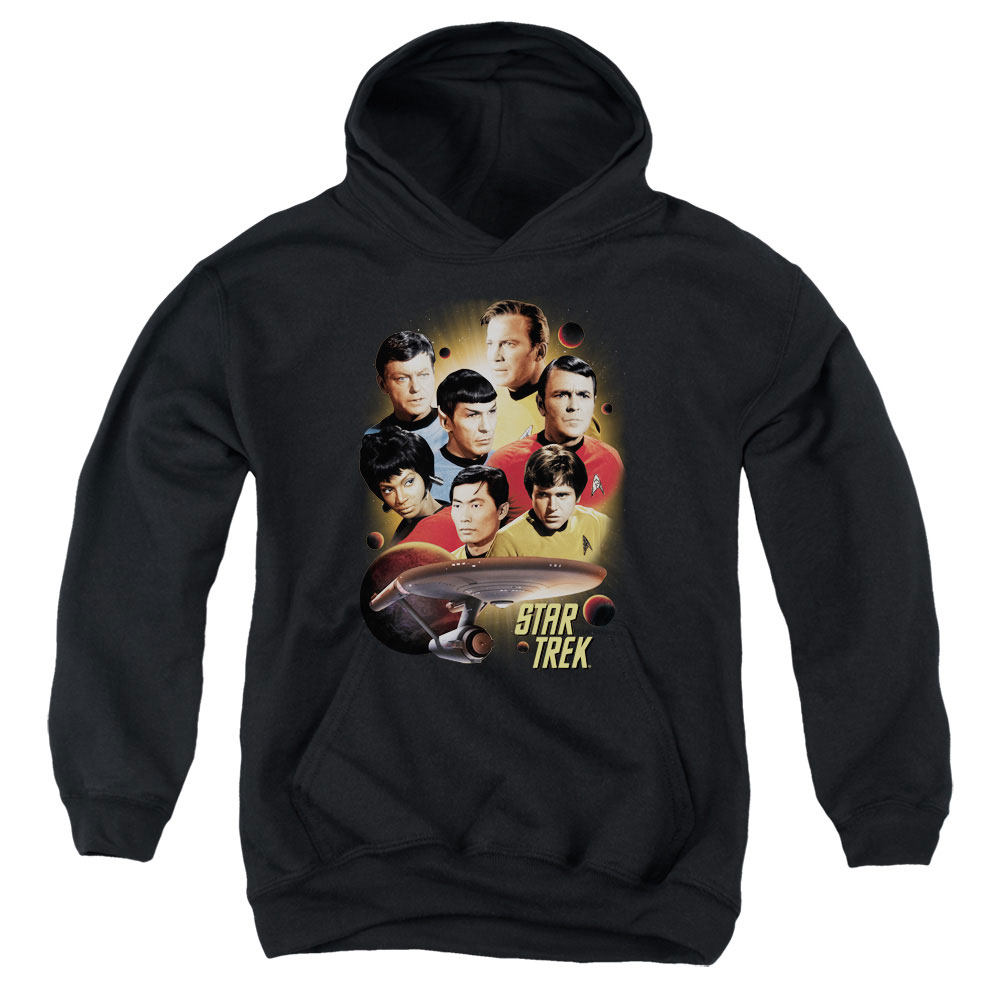 Star Trek Heart Of The Enterprise Kids Hoodie