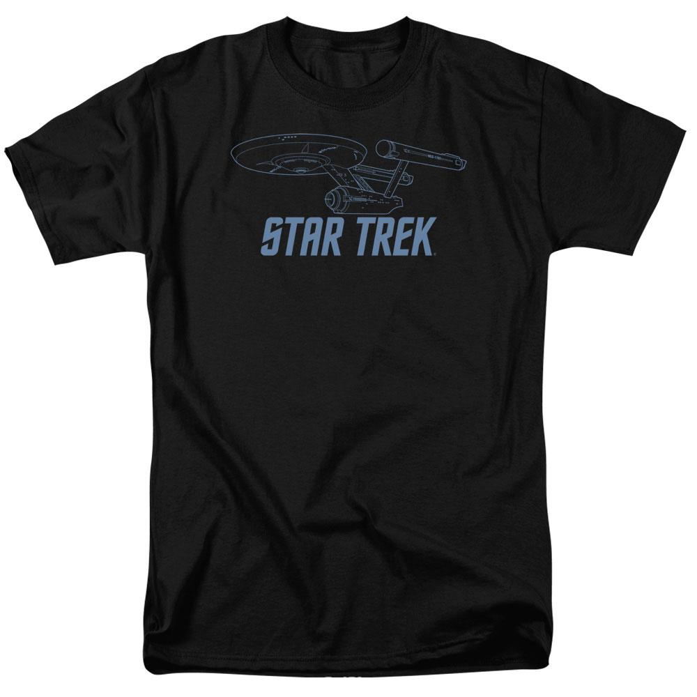 Star Trek Enterprise Outline T-Shirt