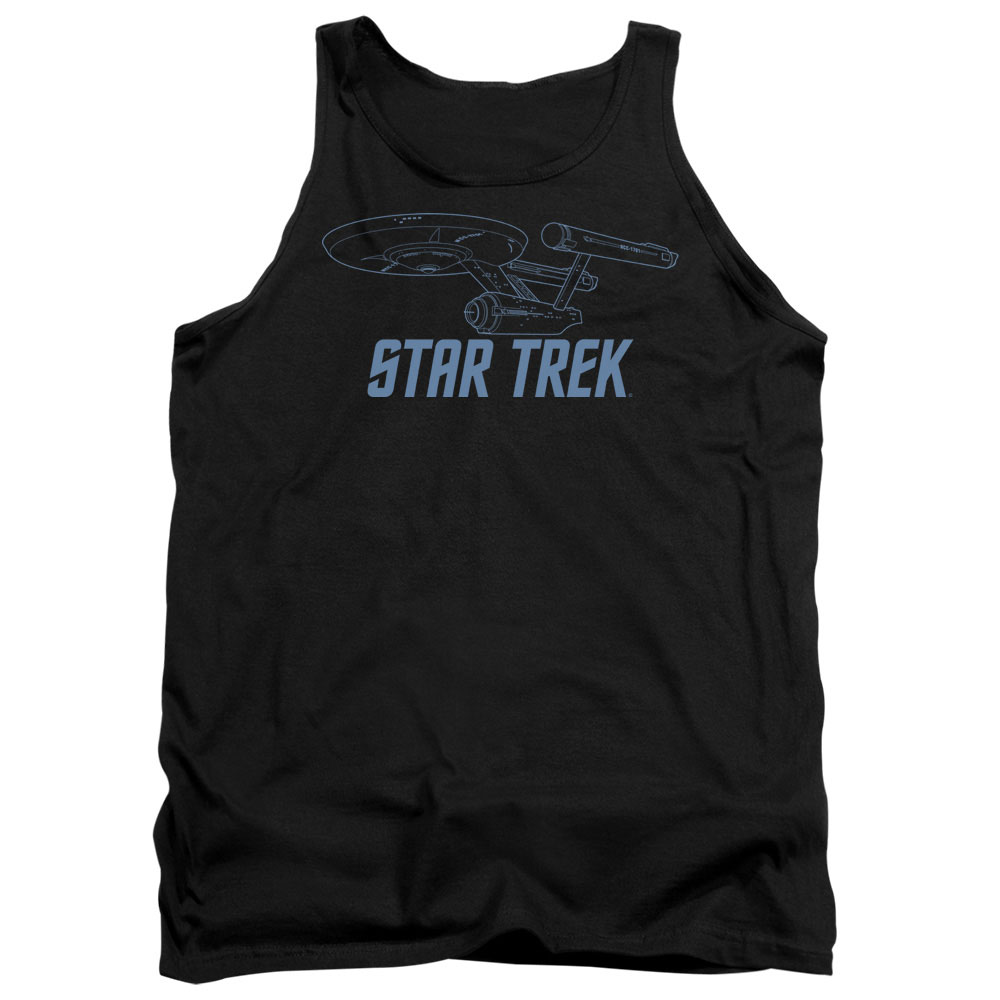 Star Trek Enterprise Outline Tank Top