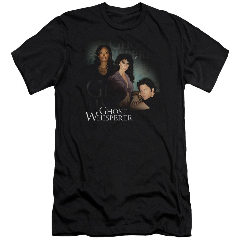 Ghost Whisperer Cast Premium Slim Fit T-Shirt