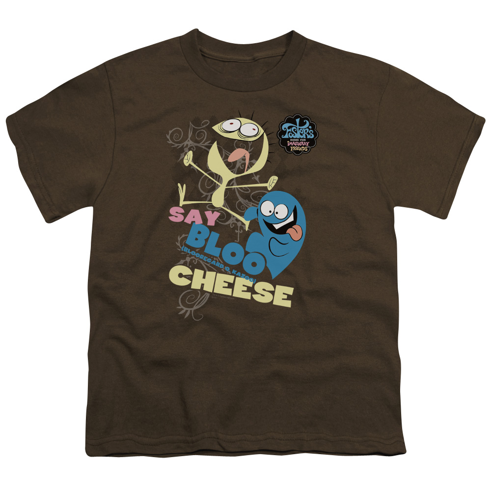 Foster's Home For Imaginary Friends Say Bloo Cheese Dancing Friends Kids T-Shirt