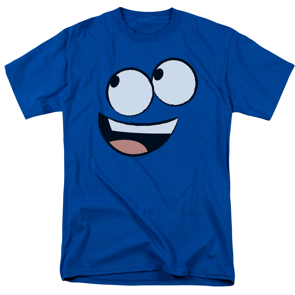 Foster's Home For Imaginary Friends Big Blue Face Smiling T-Shirt