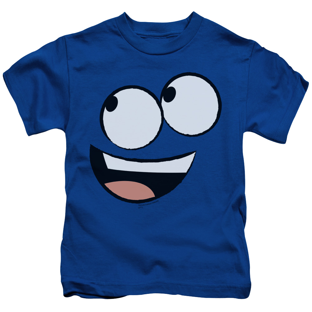 Foster's Home For Imaginary Friends Big Blue Face Smiling Juvy T-Shirt