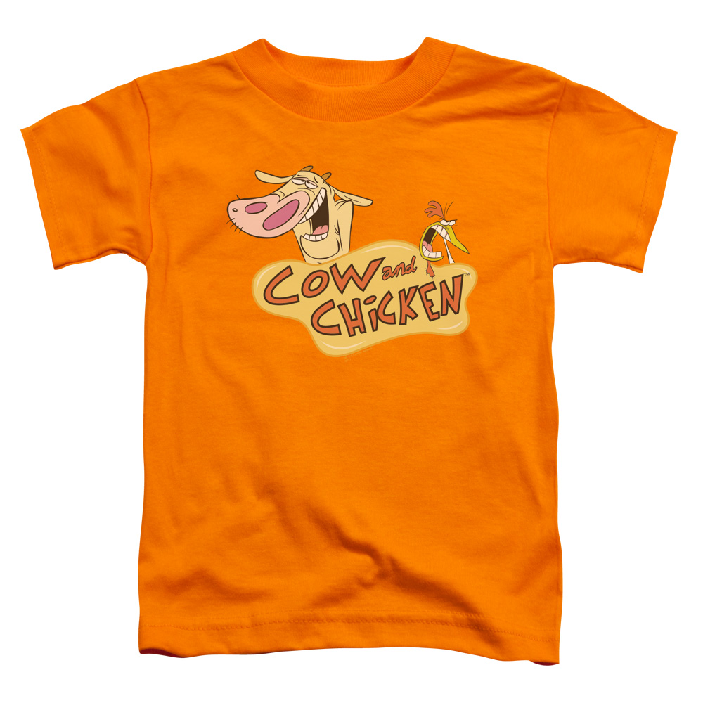 Cow and Chicken Classic Logo Toddler T-Shirt