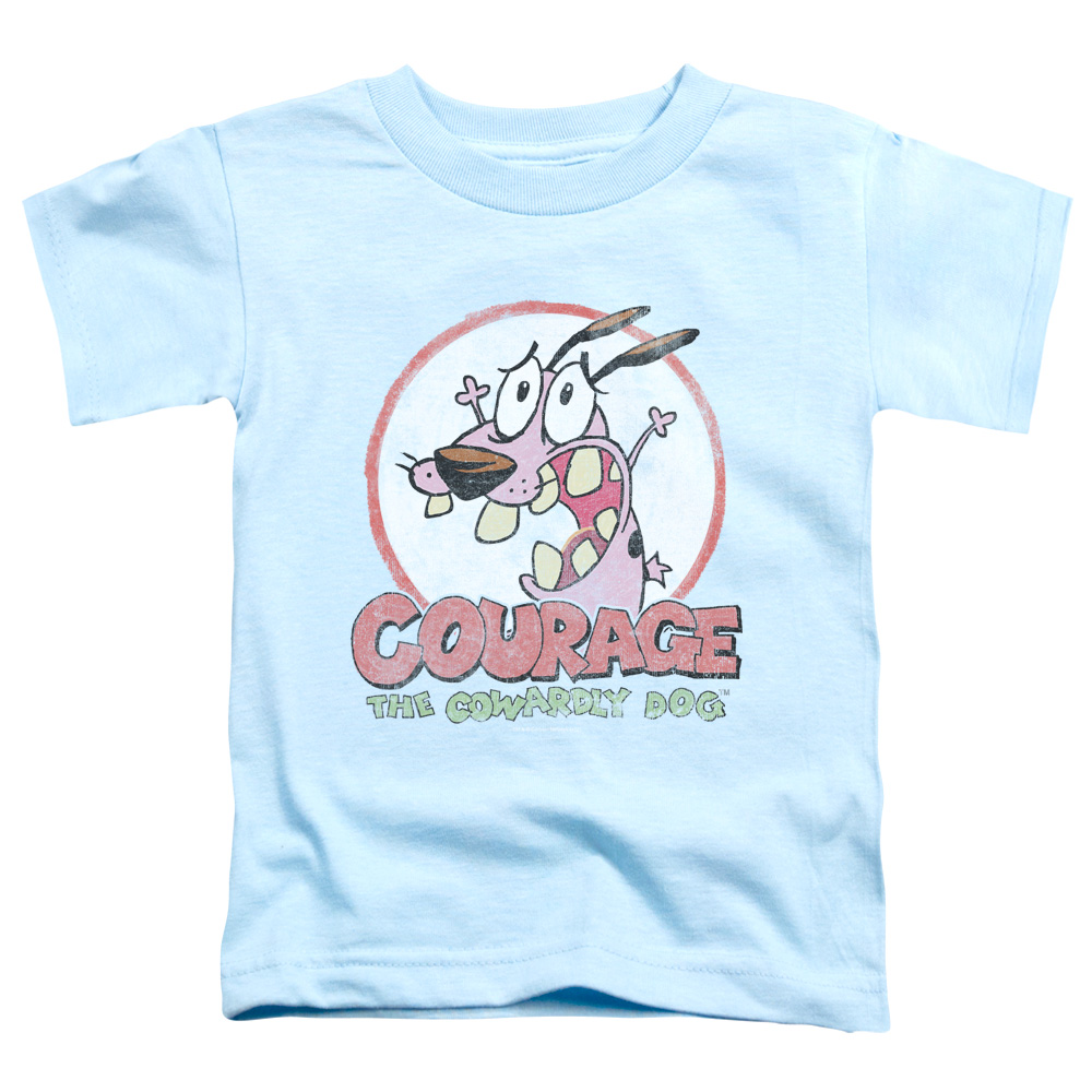 Vintage Courage the Cowardly Dog Toddler T-Shirt