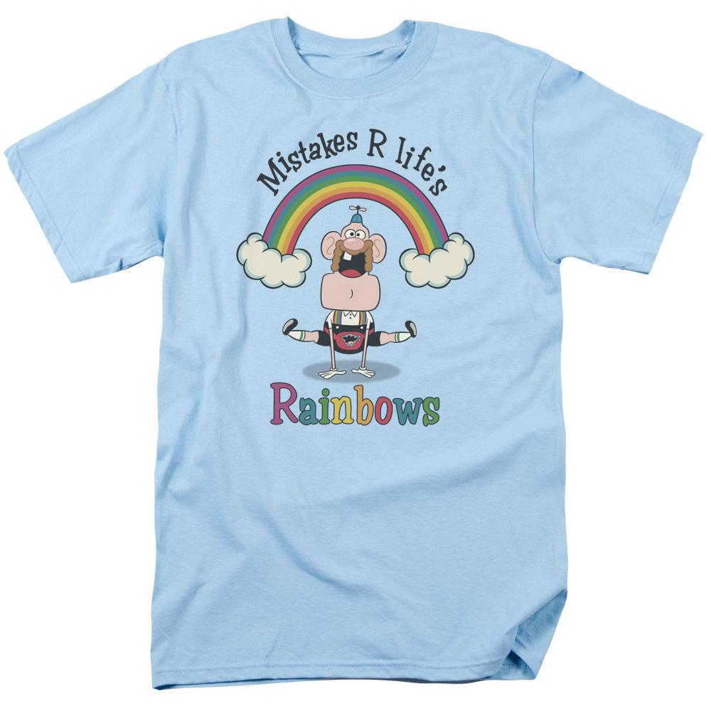 Uncle Grandpa - Life's Rainbows T-Shirt