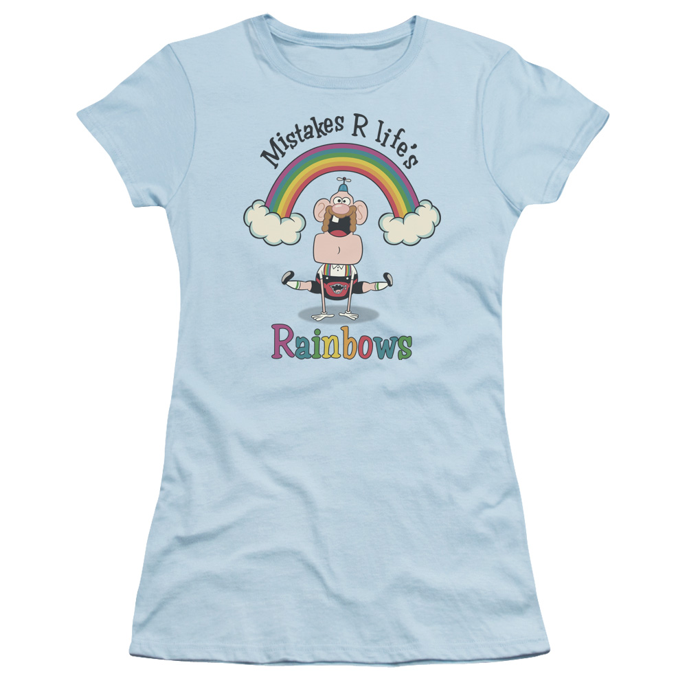 Uncle Grandpa - Life's Rainbows Junior Fit T Shirt