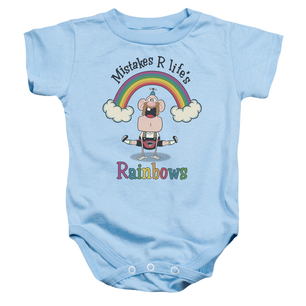 Uncle Grandpa - Life's Rainbows Baby Bodysuit