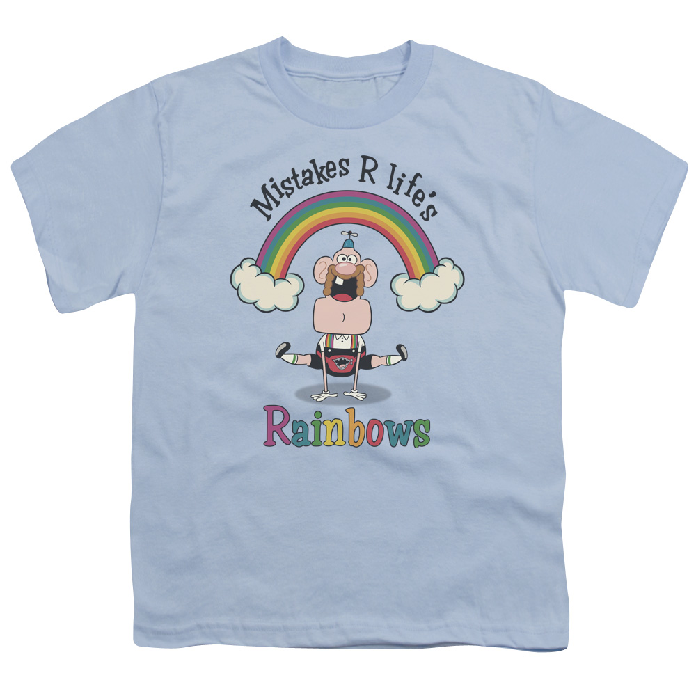 Uncle Grandpa - Life's Rainbows Kids T-Shirt