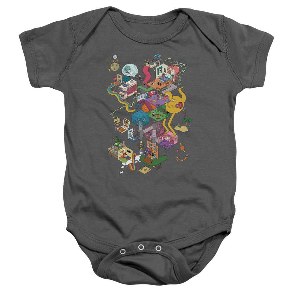 Uncle Grandpa - Inside The RV Baby Bodysuit