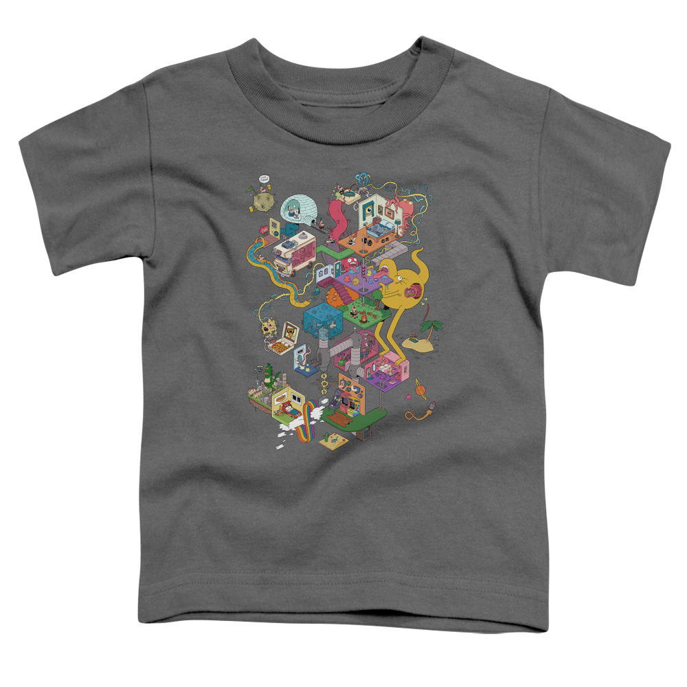 Uncle Grandpa - Inside The RV Toddler T-Shirt