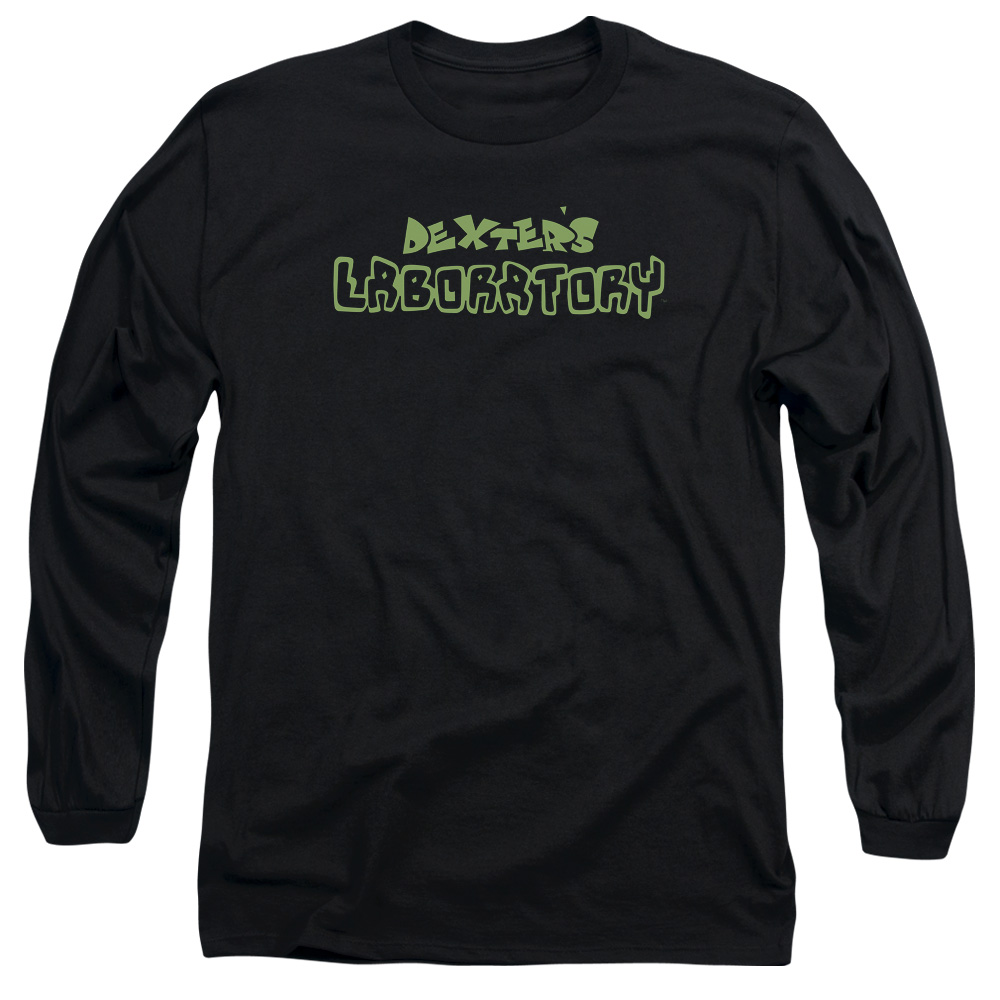 Dexter's Laboratory Classic Green Logo Long Sleeve Shirt