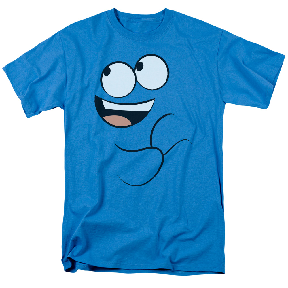 Foster's Home For Imaginary Friends Blue Smile Big Face T-Shirt