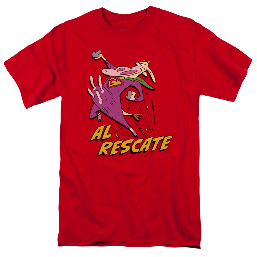 Cow and Chicken Al Rescate T-Shirt