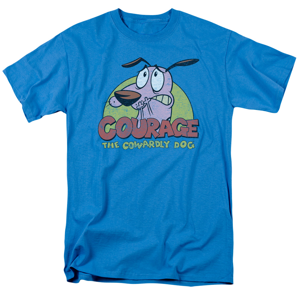 Colorful Courage the Cowardly Dog T-Shirt