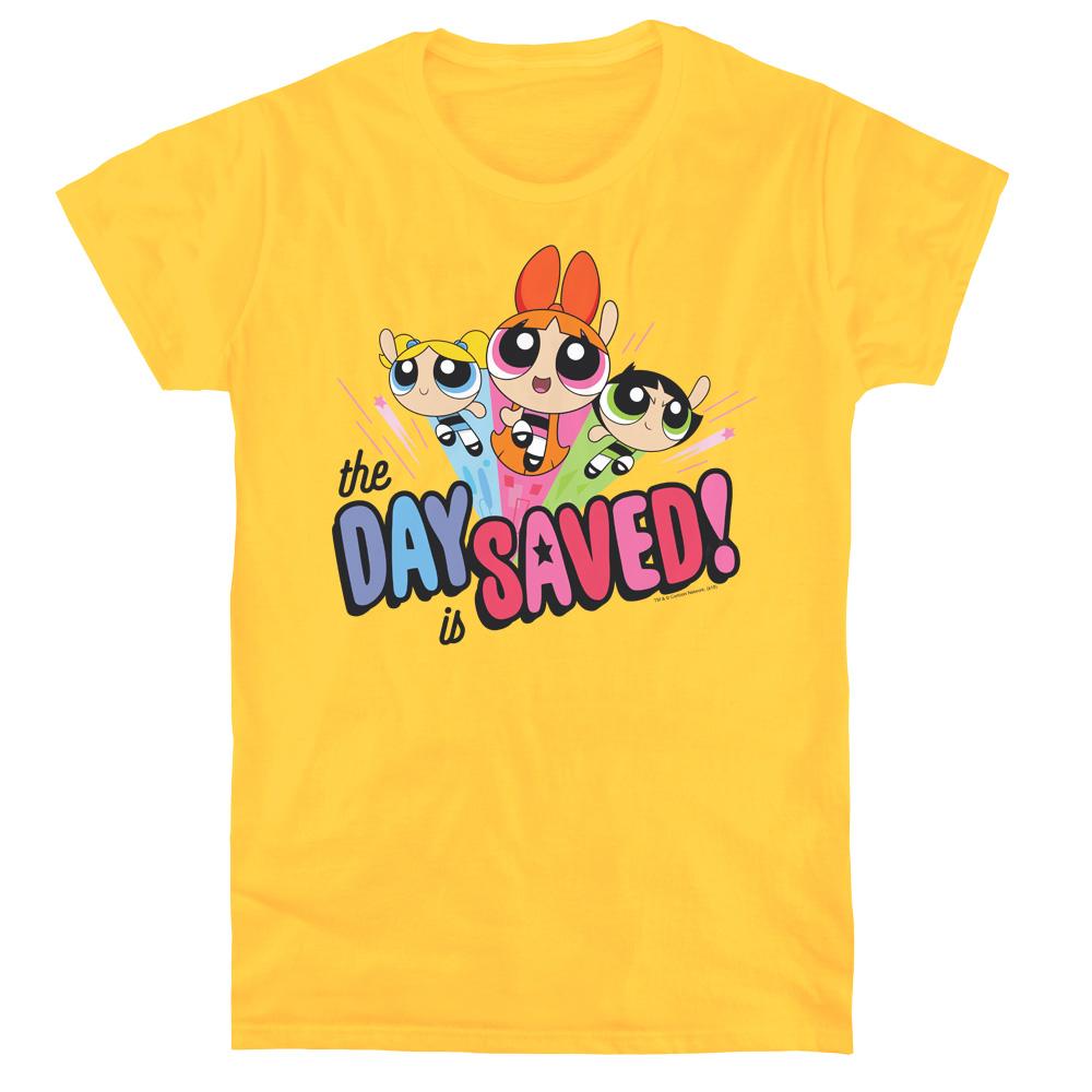 Powerpuff Girls The Day Is Saved Women's T-Shirt