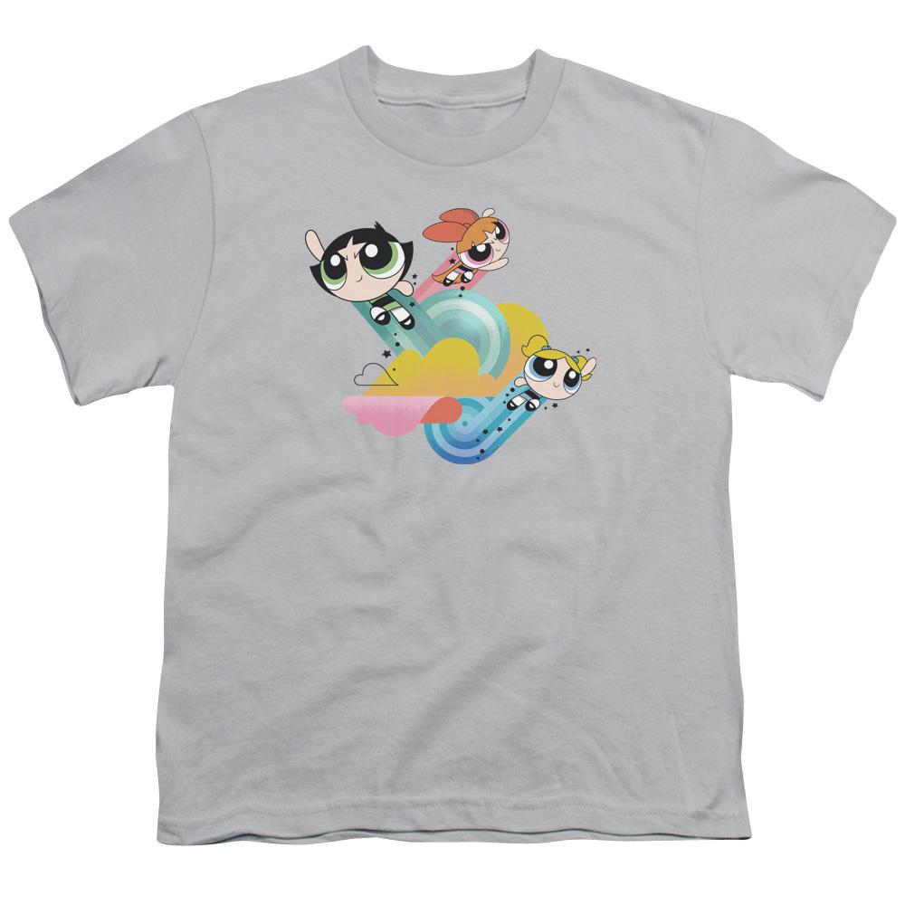 Powerpuff Girls Spiral Streaks Kids T-Shirt