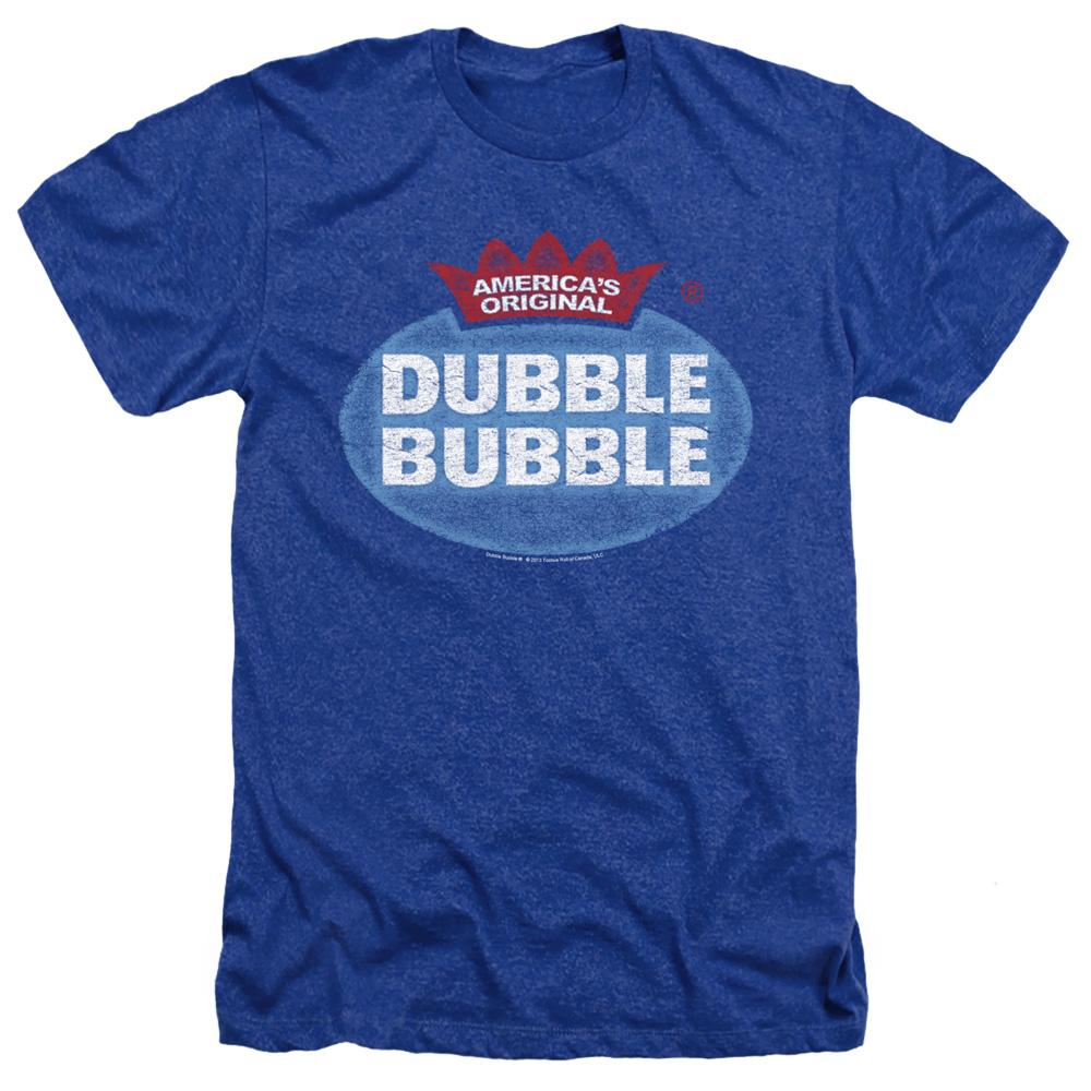 Dubble Bubble Vintage Logo Heather T-Shirt