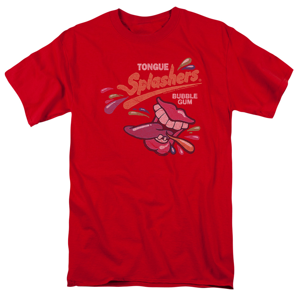 Dubble Bubble Splashers Distressed Logo T-Shirt