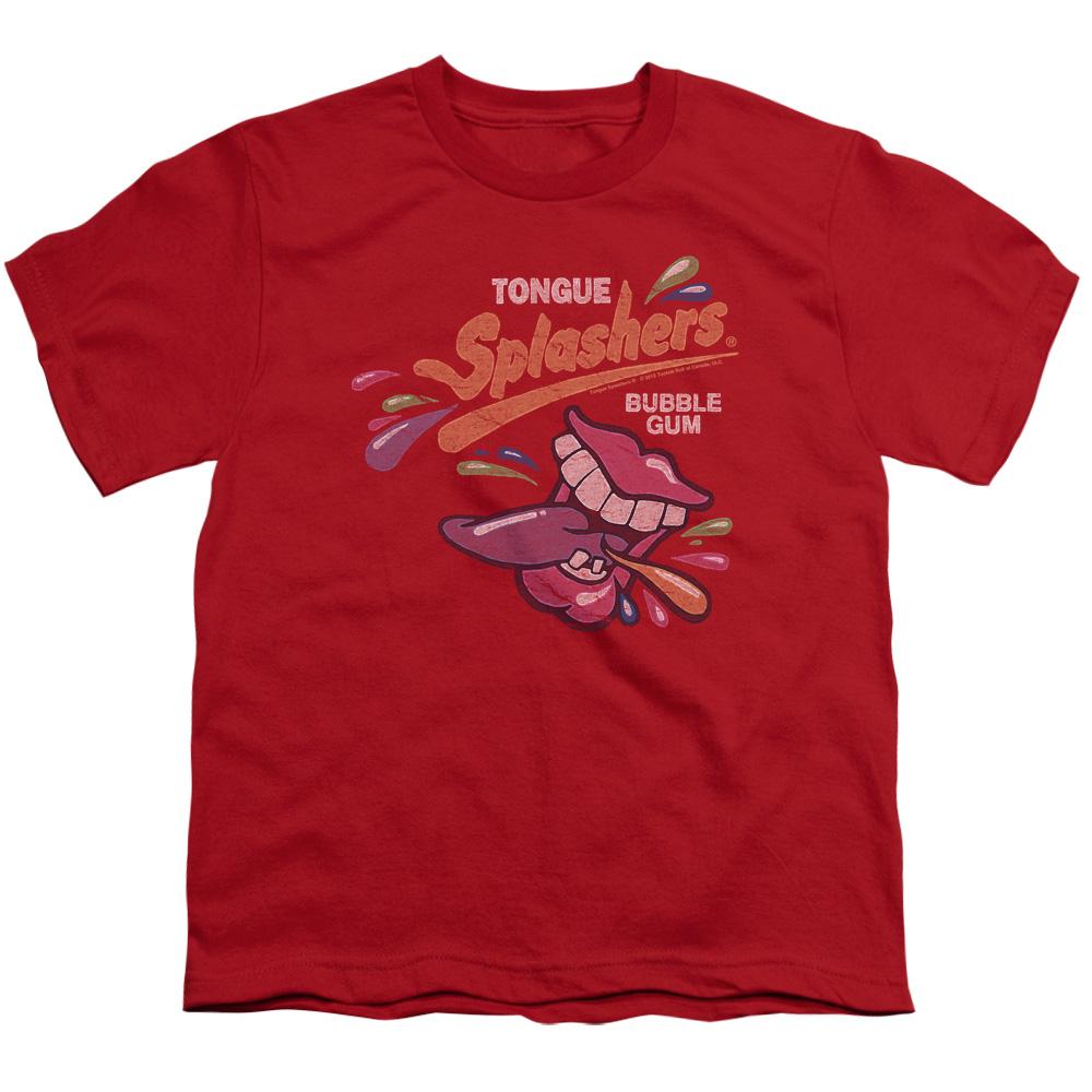 Dubble Bubble Splashers Distressed Logo Kids T-Shirt