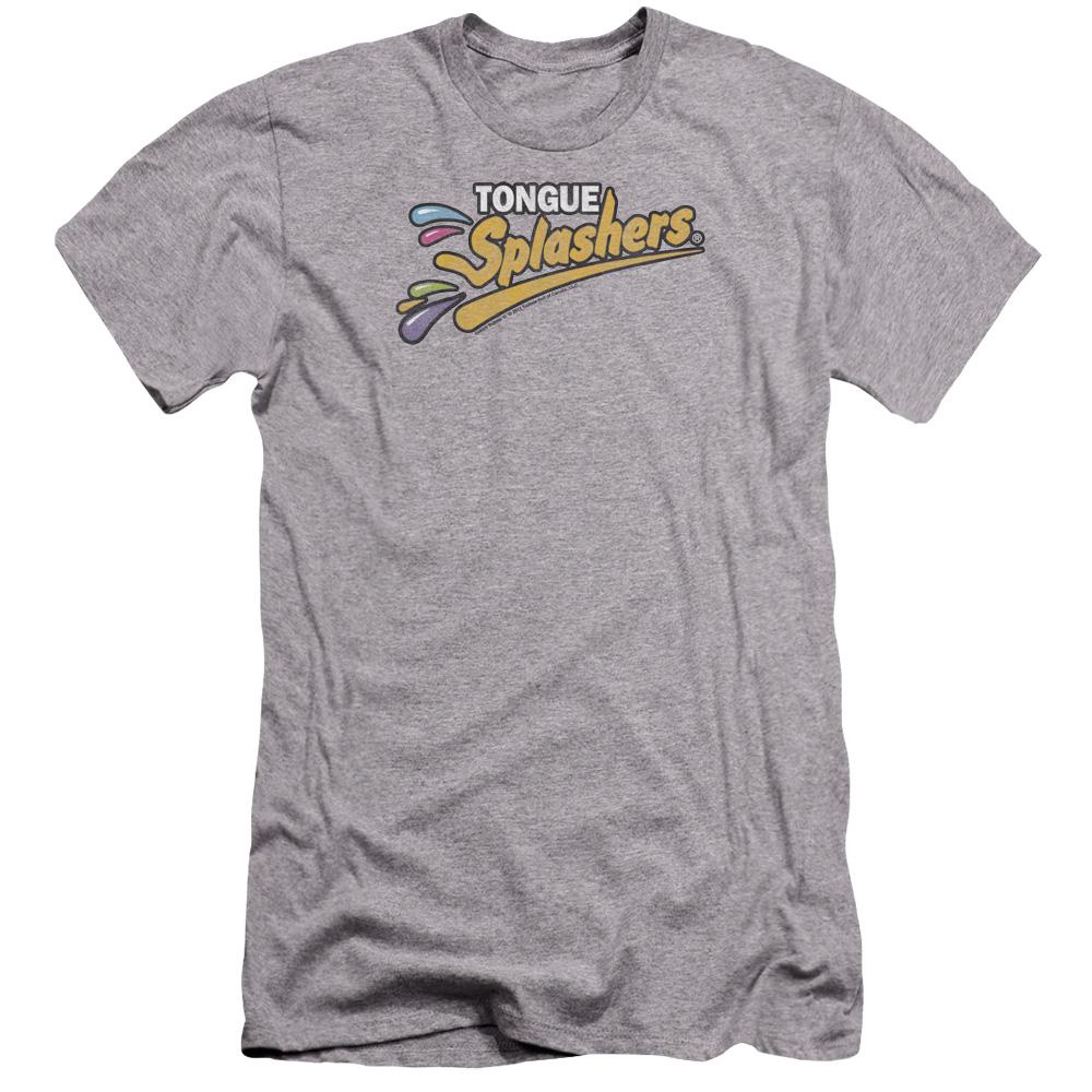 Dubble Bubble Tongue Splashers Logo Premium Slim Fit T-Shirt
