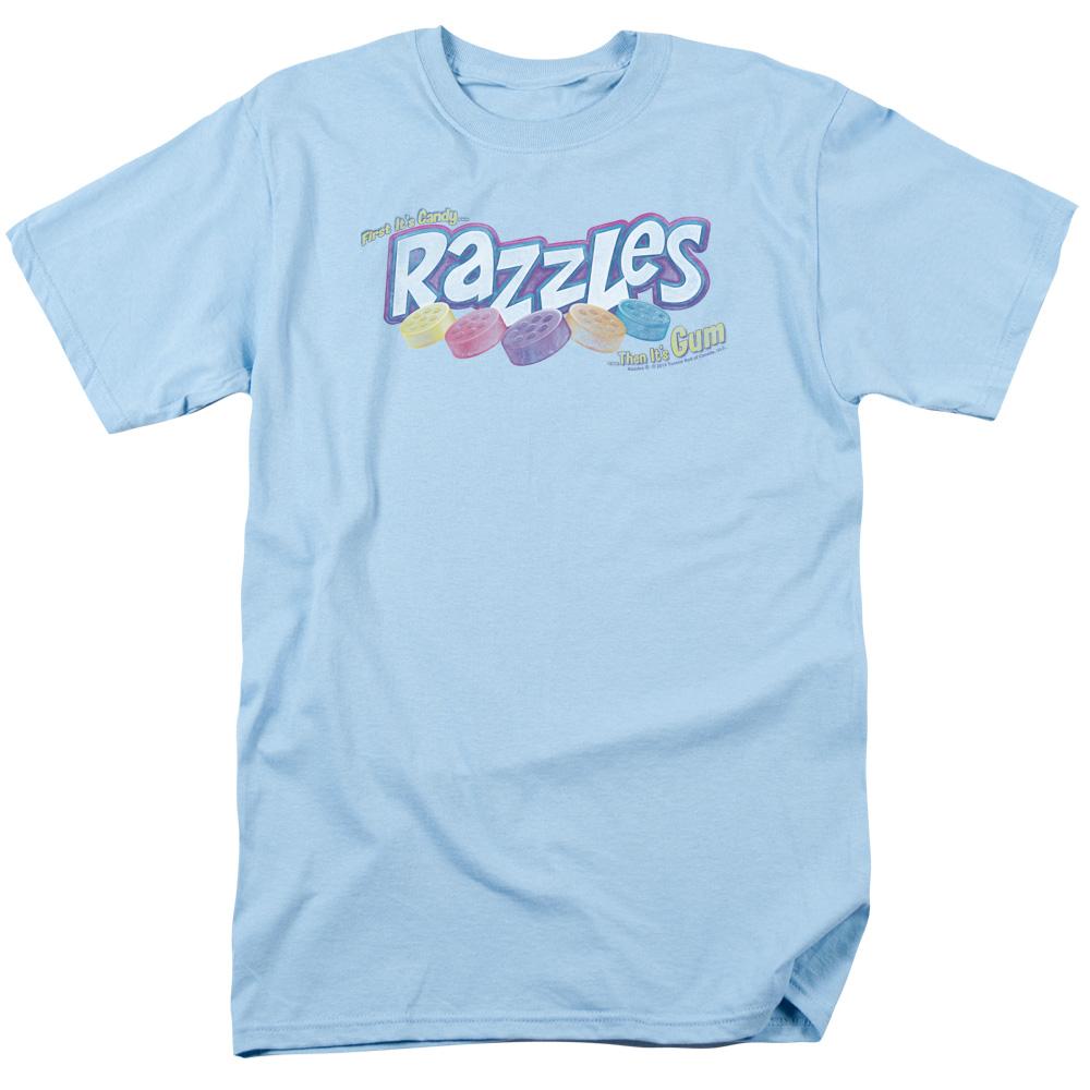 Distressed Dubble Bubble Razzles Logo T-Shirt