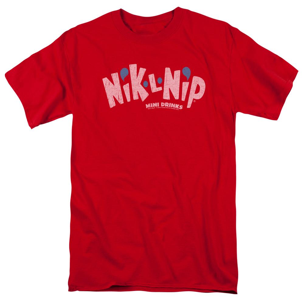 Dubble Bubble Nik L Nip Logo T-Shirt