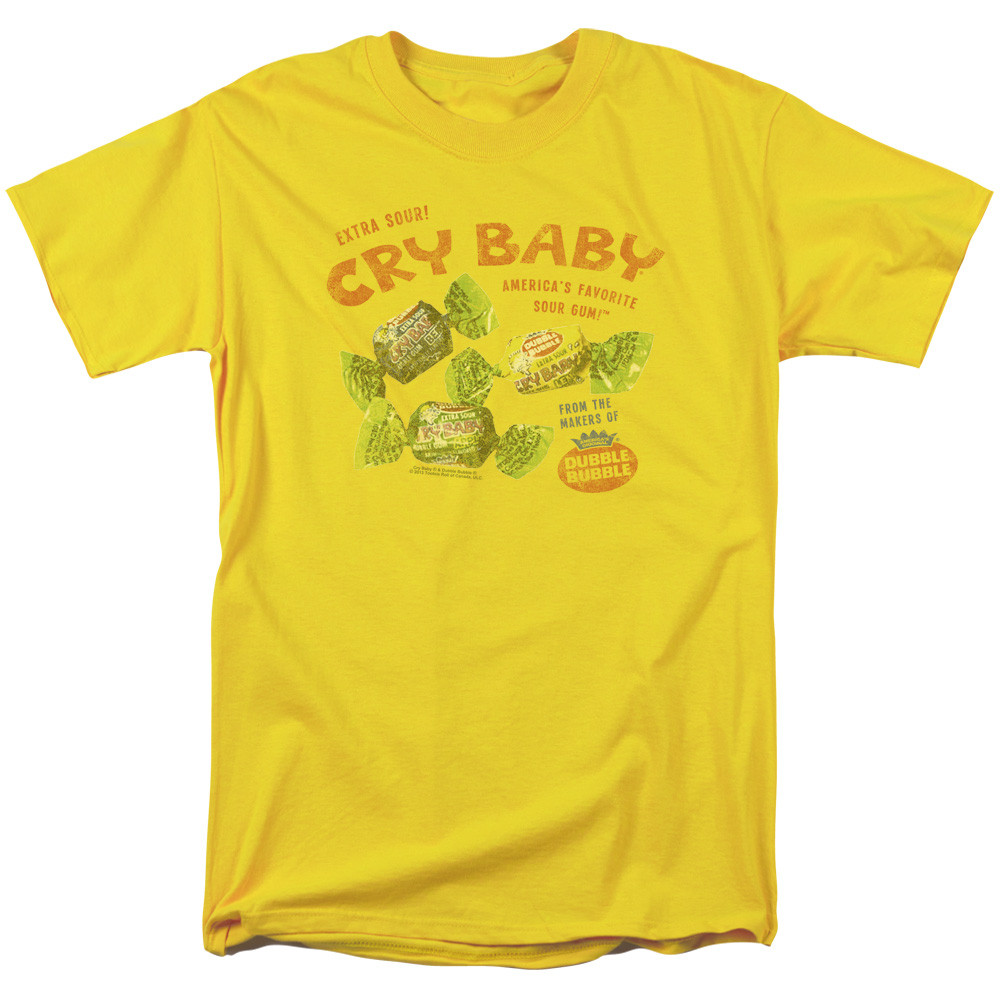 Vintage Dubble Bubble AD Cry baby T-Shirt