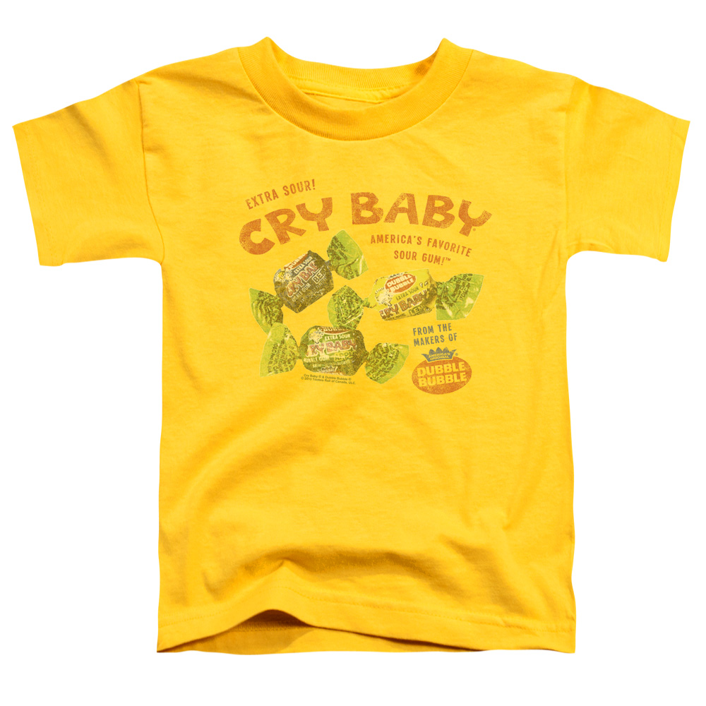 Vintage Dubble Bubble AD Cry baby Toddler T-Shirt
