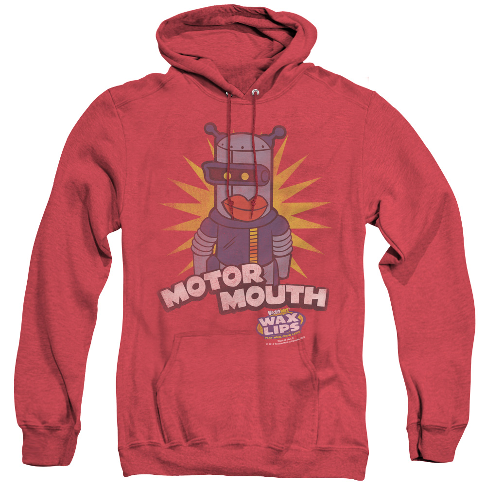 Dubble Bubble Motor Mouth Adult Heather Hoodie