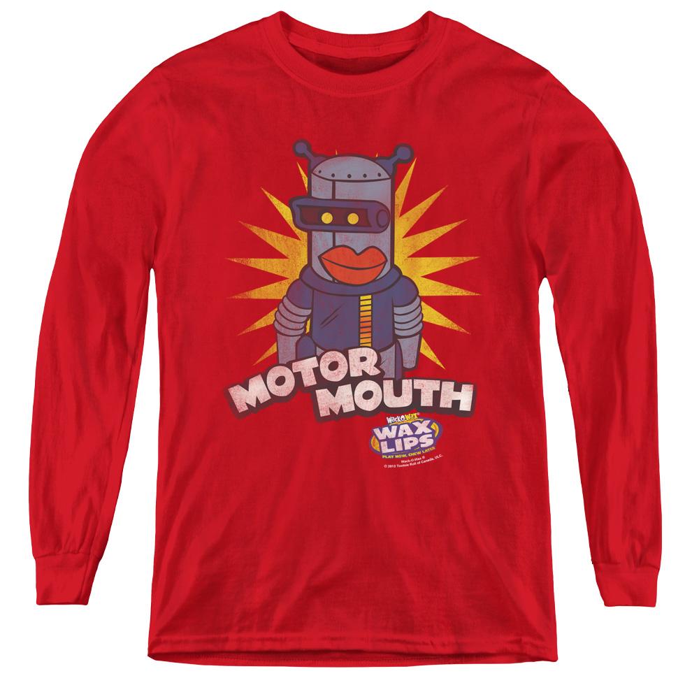 Dubble Bubble Motor Mouth Kids Long Sleeve Shirt