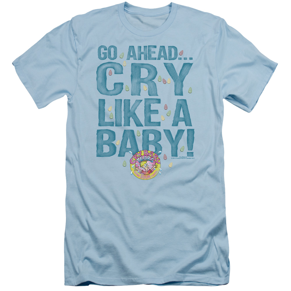 Dubble Bubble Cry Like A Baby Slim Fit T-Shirt