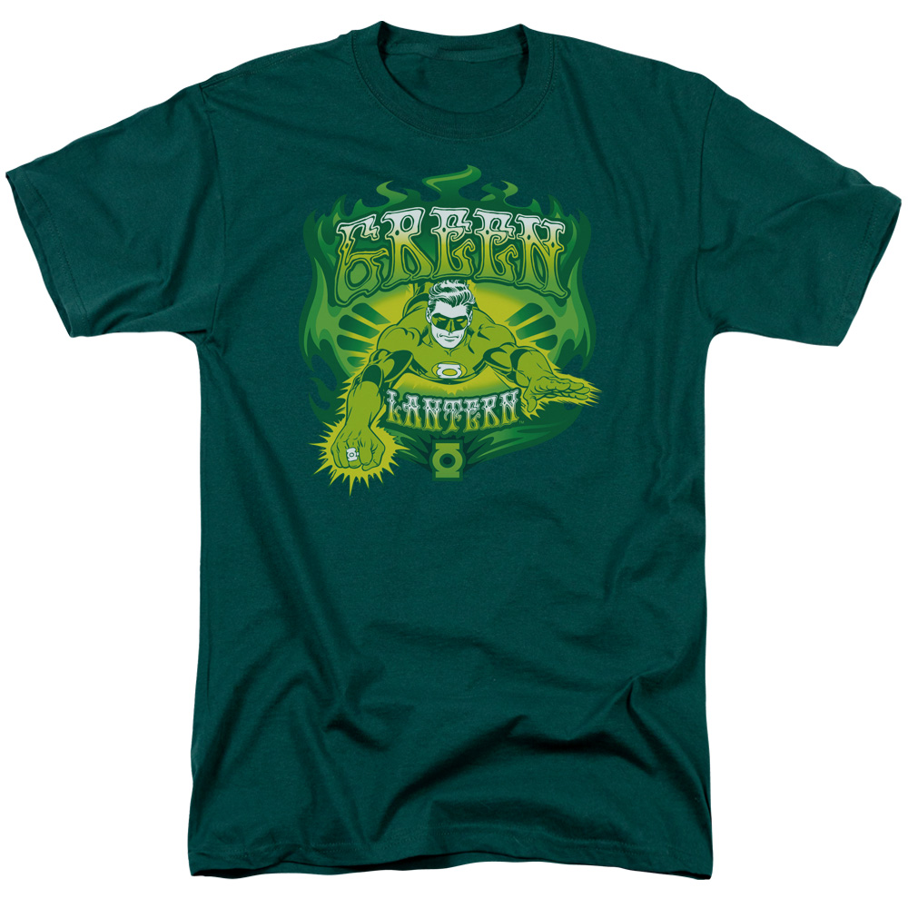 Green Lantern Green Flames T-Shirt