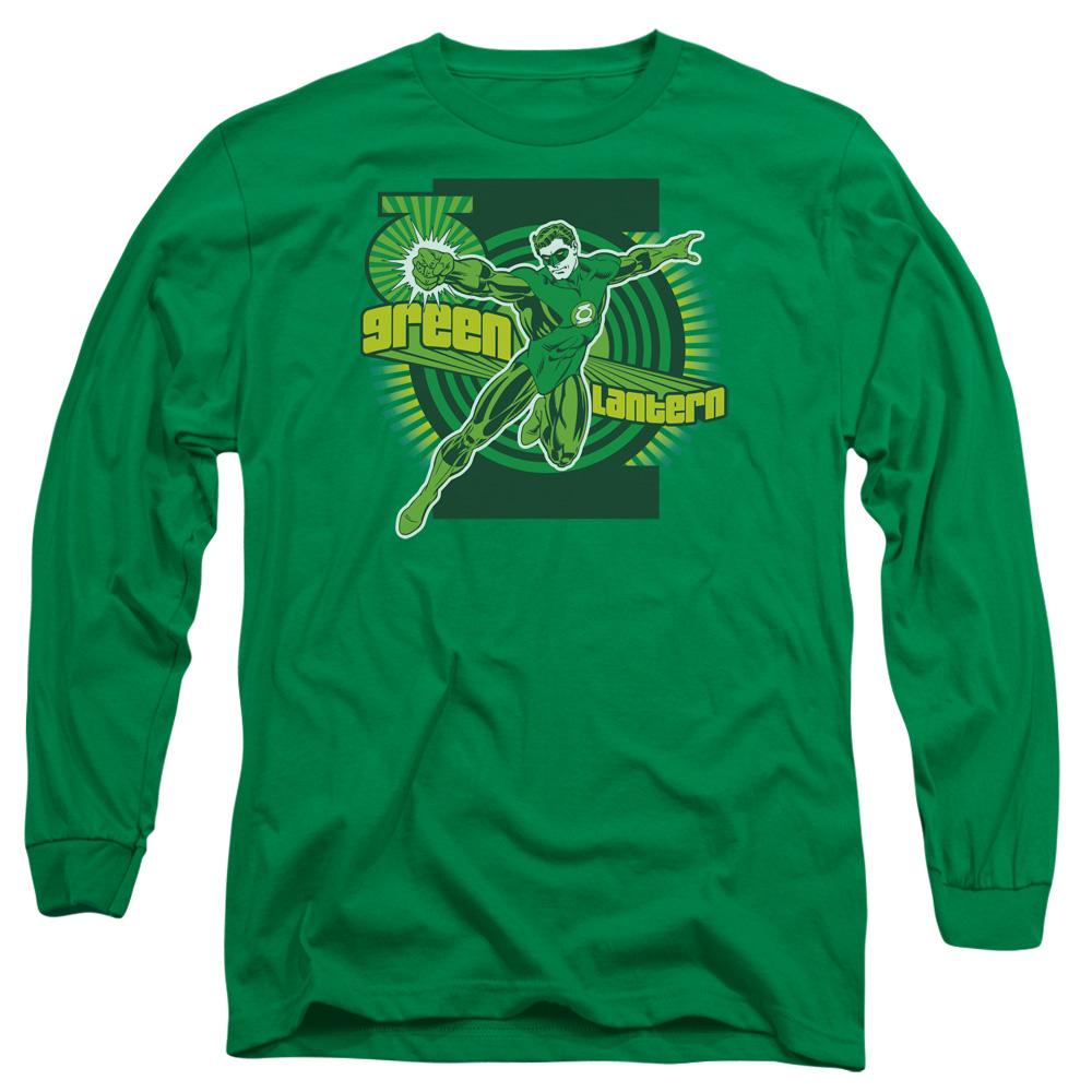 Green Lantern Retro Long Sleeve Shirt