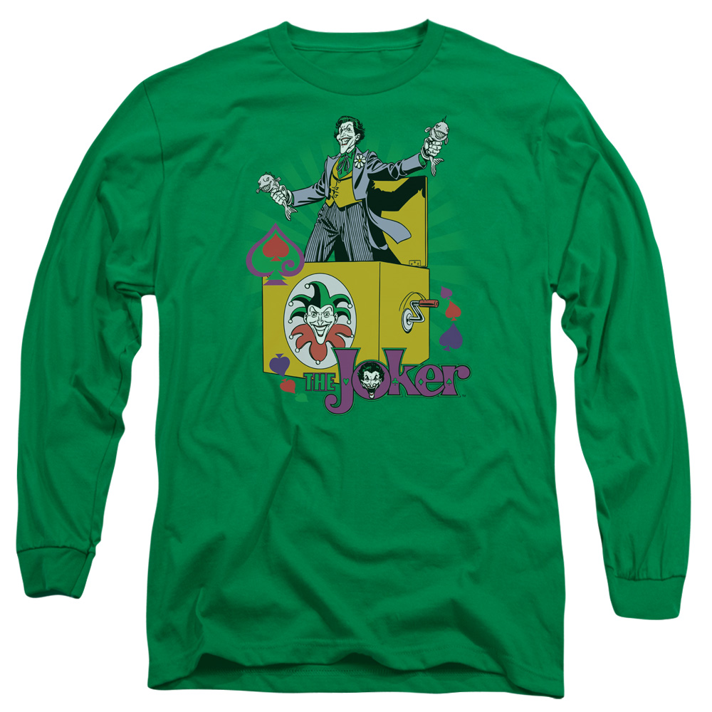 Joker These Fish Are Loaded Long Sleeve Shirt