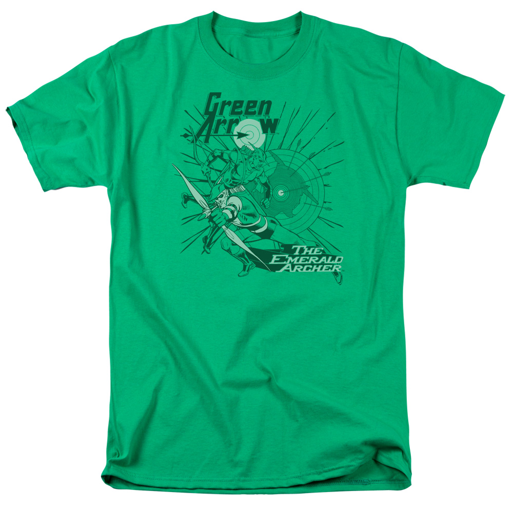 Green Arrow Emerald Archer IN MY SIGHT Licensed Long Sleeve T-Shirt S-3XL