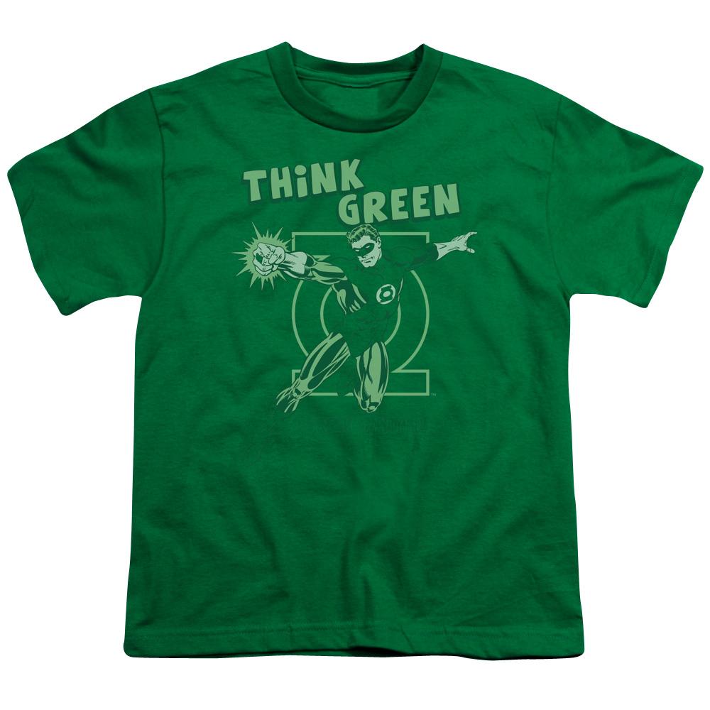 Green Lantern Think Green Kids T-Shirt