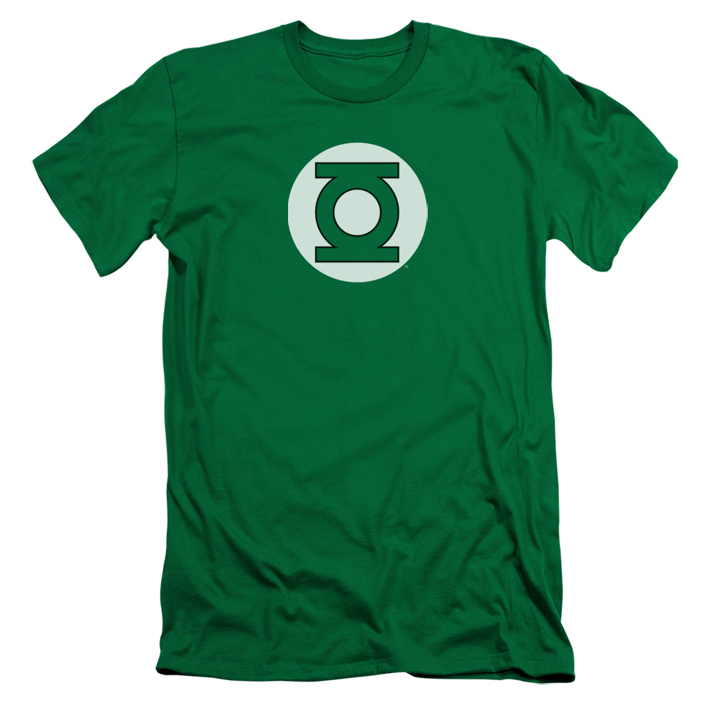 Green Lantern DC Classic Logo Slim Fit T-Shirt