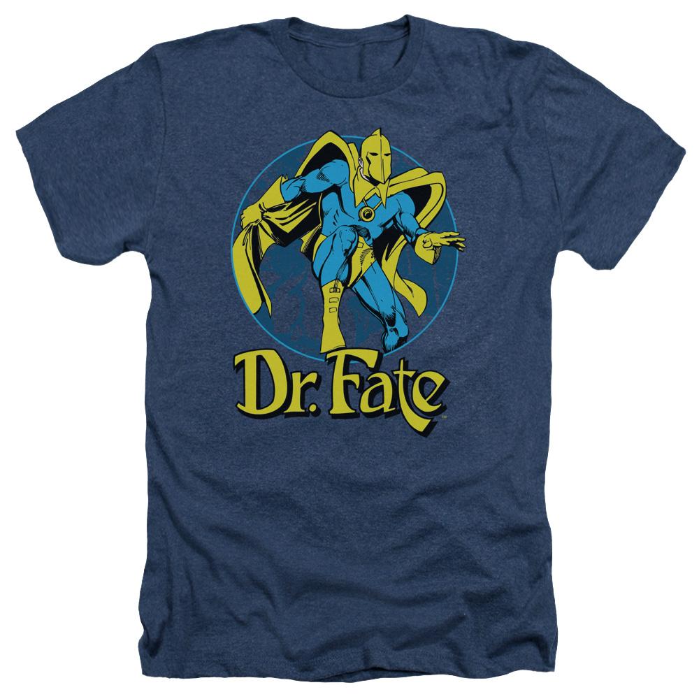 Dr Fate Ankh Heather T-Shirt