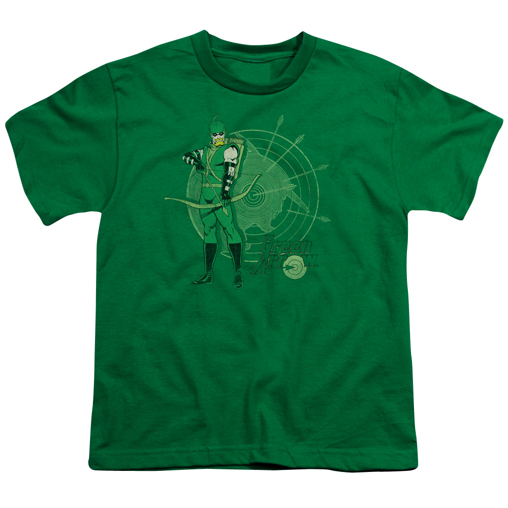 Green Arrow Target Kids T-Shirt